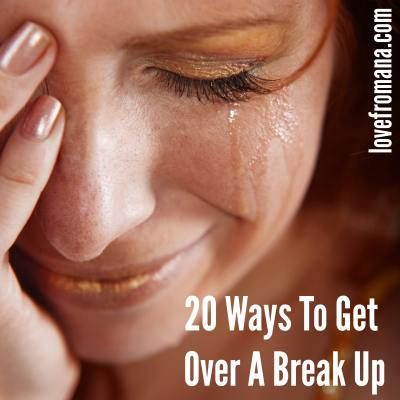 20 Ways To Get Over A Break Up - save for later for yourself or a friend. I hope you never suffer a relationship breakup and never need it, but just in case.