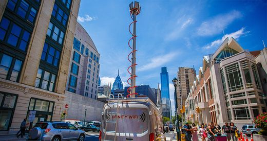 ARTICLE: Comcast has deployed its mobile Wi-Fi hotspot service, Xfinity Wi-Fi on Wheels - Public Wi-Fi van, 19th July 2016 [Every day, humanity stoops to new levels of stupidity. Note the range of this thing...] http://www.fiercecable.com/story/comcast-deploys-mobile-public-wi-fi-van/2016-07-19