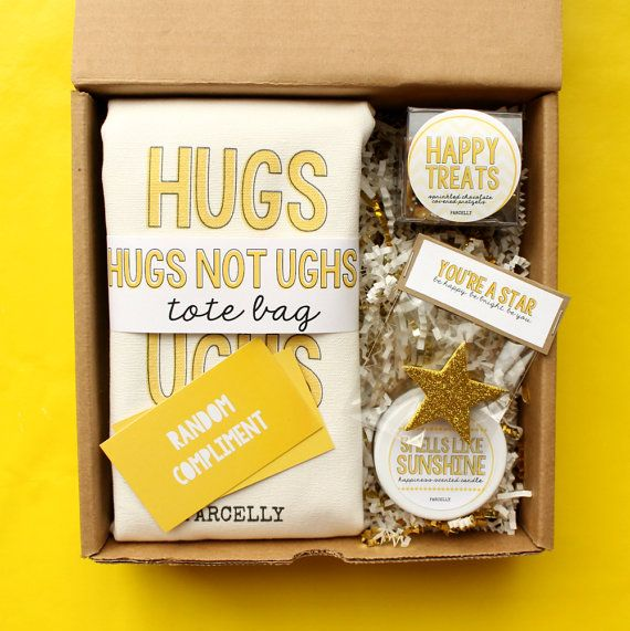 CHEER UP BUTTERCUP Sunshine Care Package for Bad Days Sometimes a pick me up is more than necessary and we get that! Rain or shine, Parcelly is here