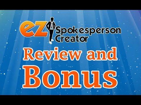 EZ Spokesperson Creator   Todd Gross REVIEW