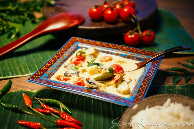 Indyjskie proste curry rybne - Meen - SlodkoKwasny.com