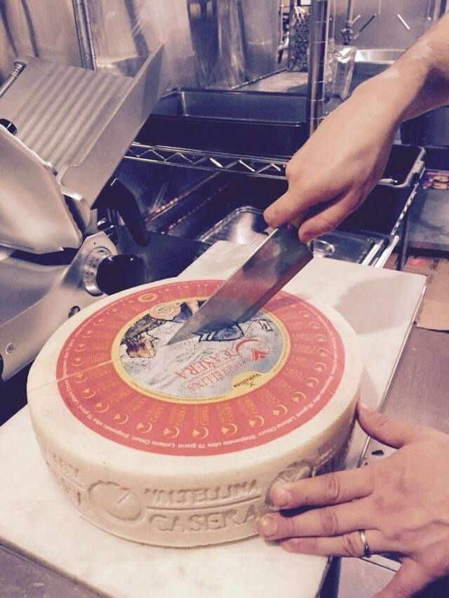 Valtellina Casera DOP cheese #stelvio #toronto #valtellina #cheese #foodspotting #goodfood #eating #foodporn #foodgasm #queenstreetwest