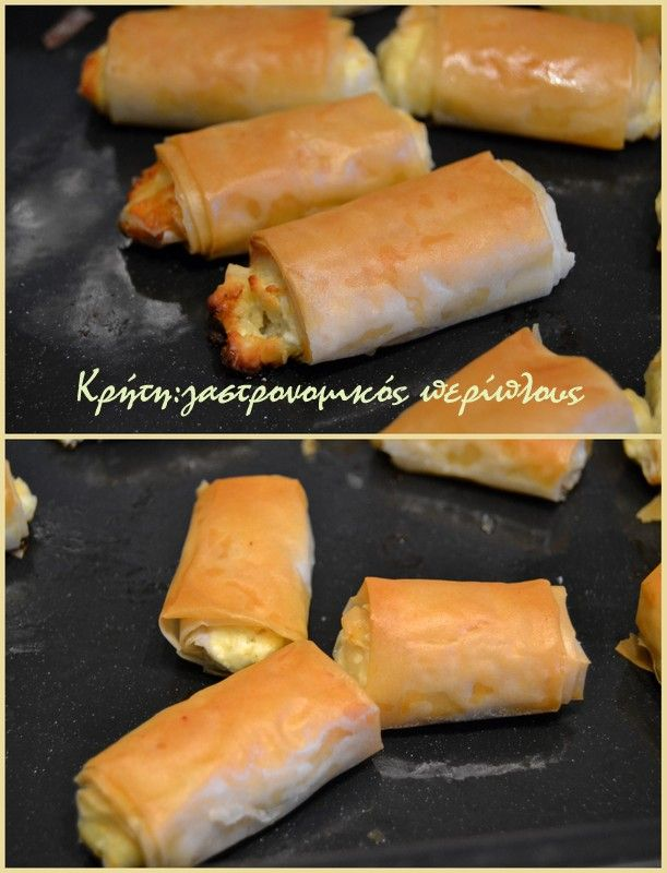 Πέντε υλικά για ένα κρητικό finger food !   Τα κρητικά τυριά είναι τόσα πολλά και τόσο διαφορετικά από τόπο σε τόπο! Η χρήση τους σε διάφορες συνταγές είναι πια πολύ συνηθισμένη και απ'…