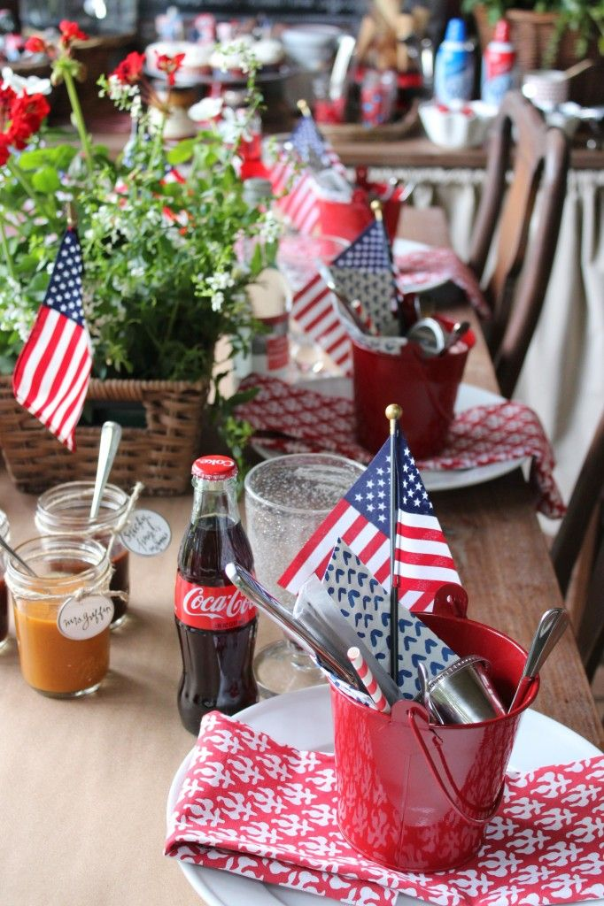 Simple 4th Of July Decor Ideas With Farmhouse Style July 4th 4th