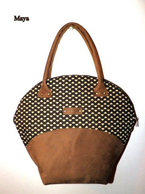 Miskolczimaya -  Bőrtáska: Buffalo bőr kézitáska #bag #leather