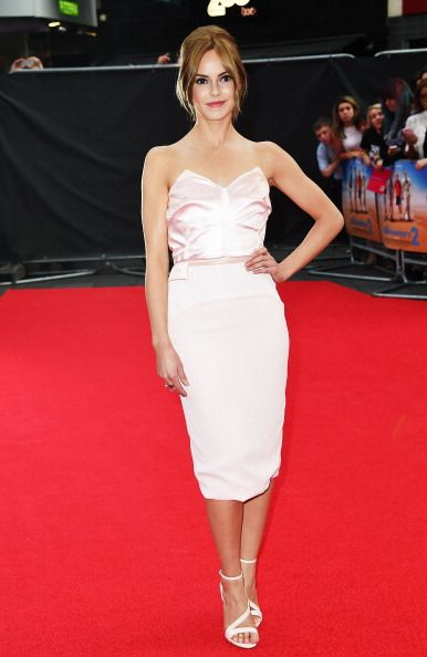 Hannah Tointon attends the World Premiere of 'The Inbetweeners 2'