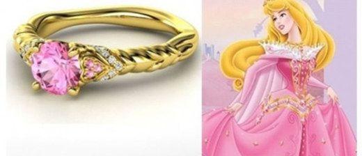 Gli anelli di fidanzamento delle Principesse Disney: quale ti piace di più?