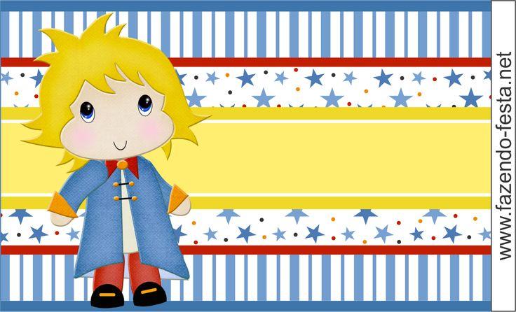 kit festa pequeno príncipe bolinha de sabão