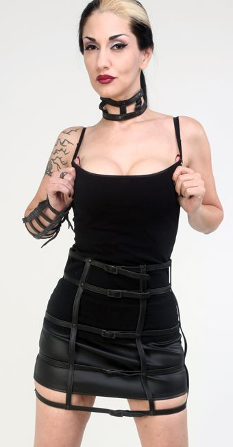 Lip Service cage skirt size L or XL