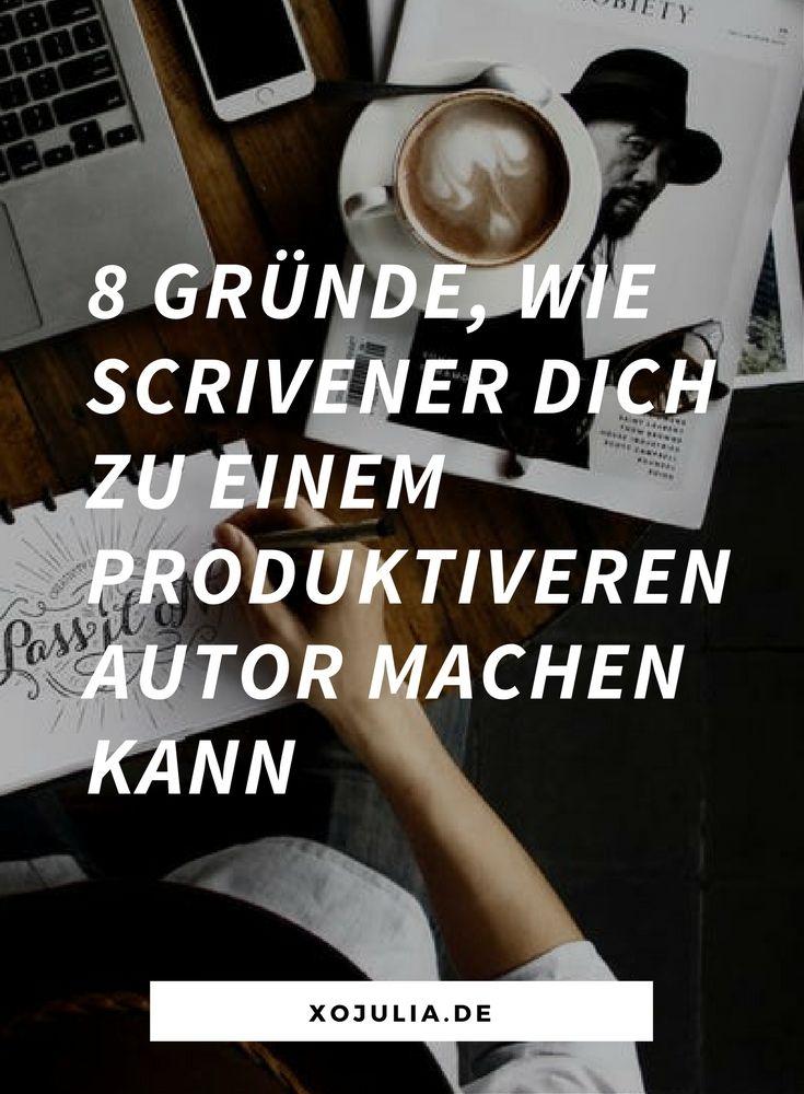 Scrivener kann die Produktivität von Autoren enorm steigern. Sachbuchautoren, Romanautoren, Blogger – das Programm passt sich den Autoren an.