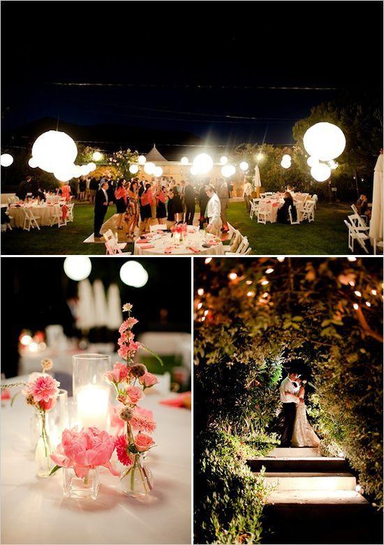 Lantern Lighting Makes For Amazing Night Photos Dream Wedding