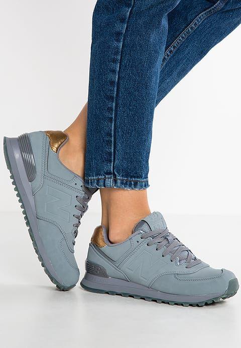 Schoenen New Balance WL574 - Sneakers laag - grey Grijs: € 99,95 Bij Zalando (op 12-12-16). Gratis bezorging & retournering, snelle levering en veilig betalen!