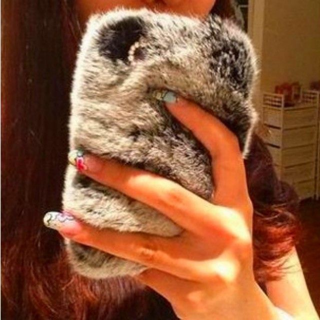 Faux Fluffy Case