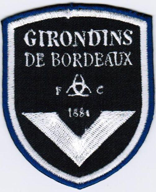 Ligue 1 FC Football Club des Girondins de Bordeaux French League France Patch