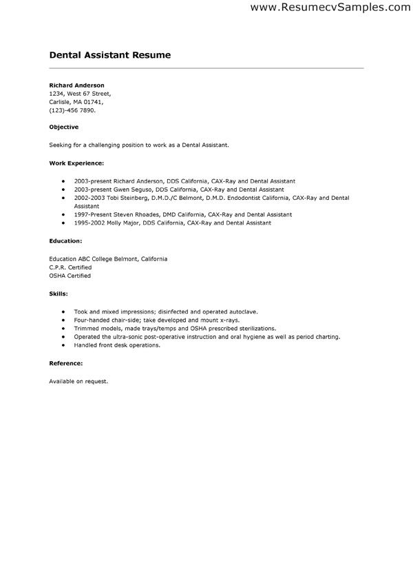 dental assistant resume sample best jobs archives salary