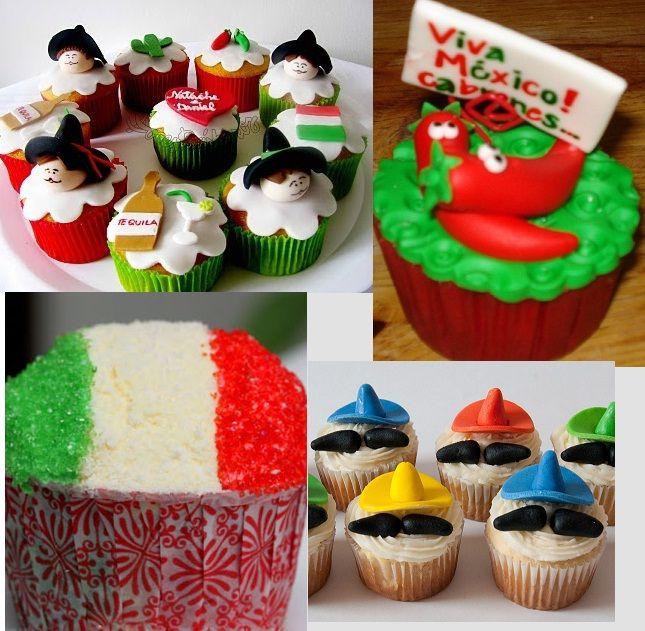 No pueden faltar y les comparto algunas ideas.   Galletas en forma de sombrero.   Cupcakes decorados con cactus.       Brochetas de gomitas ...