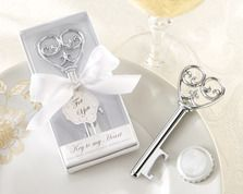 """""Simply Elegant"" Key To My Heart Bottle Opener"""