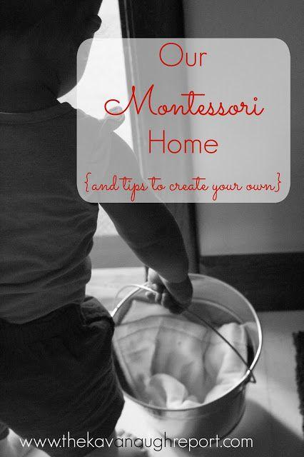 Montessori Home and spaces