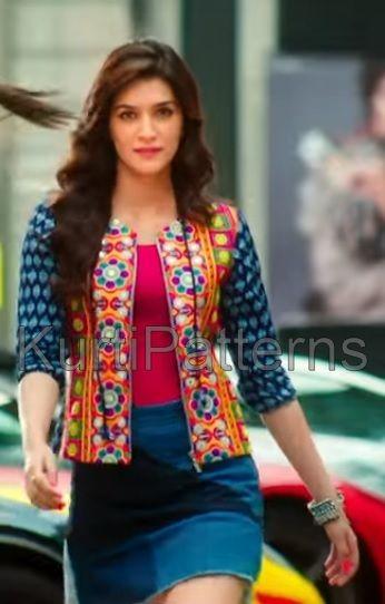 Closeup Still Of Hot Kriti Sanon Dilwale Fashion Tops