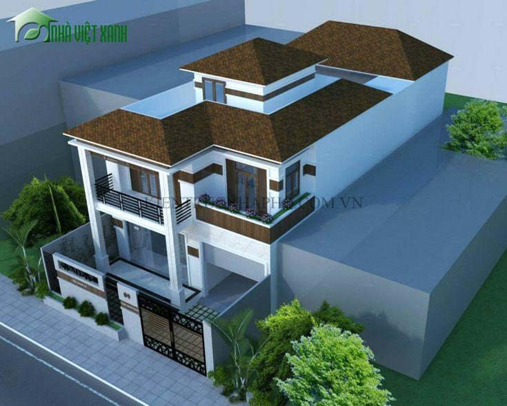 Thiết kế biệt thự 10x22m anh Sơn Bình Phước 2 http://kientrucnhapho.com.vn/thiet-ke-biet-thu-dep