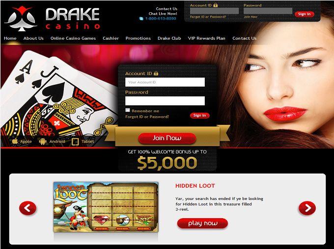 http://www.latestcasinobonuses.com/casinos/drake-casino.html#prettyPhoto
