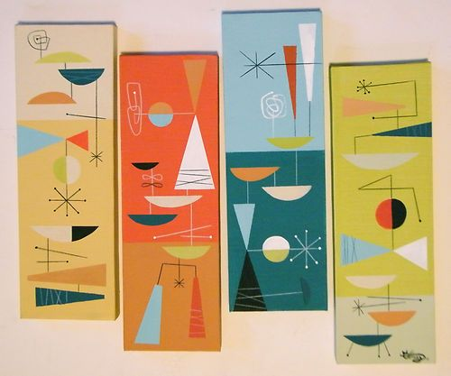 Mid Century Wall Decor best 25+ mid century modern art ideas on pinterest | modern