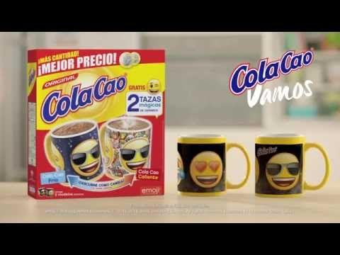 Cola Cao Tazas Mágicas Emoji. Octubre 2016