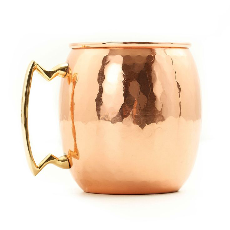 Old Dutch 16 oz. Hammered Copper Moscow Mule Mug - Set of 4 - Your obsession with perfectly chilled Moscow Mules is complete now that you have the Copper Mule Mug - Set of 4 . You can never have too many copper...