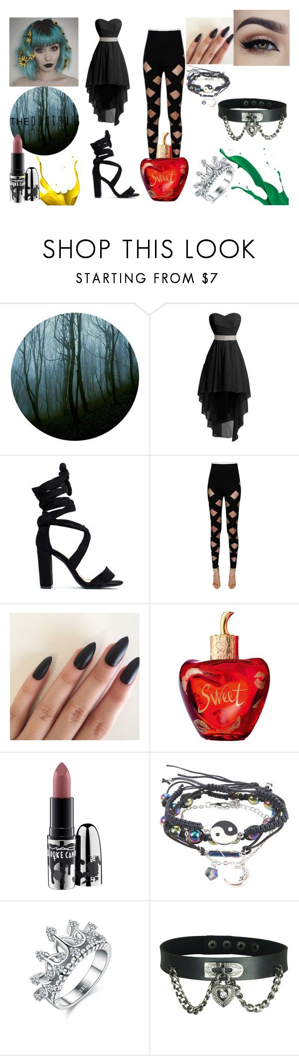"""""""The Pantsuit"""" by constance-jean-pacheco on Polyvore featuring Balmain, Lolita Lempicka and MAC Cosmetics"""