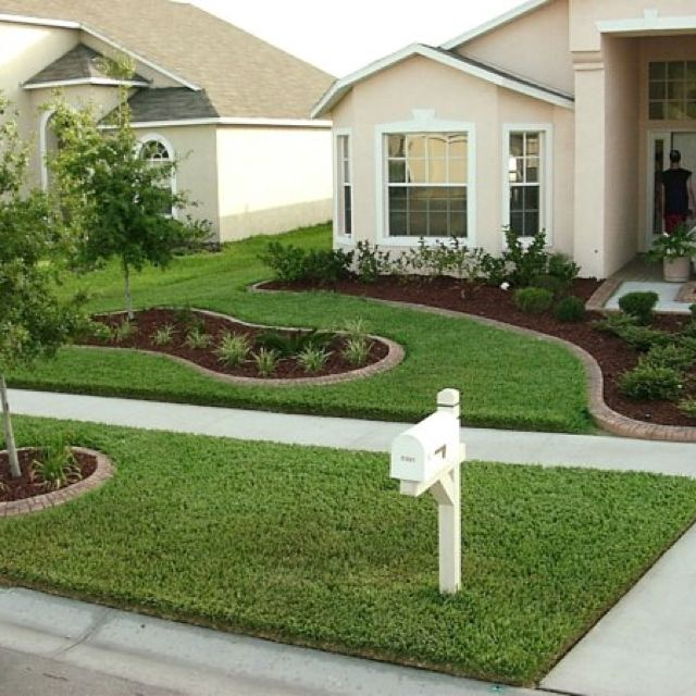front yard ideas.love clean