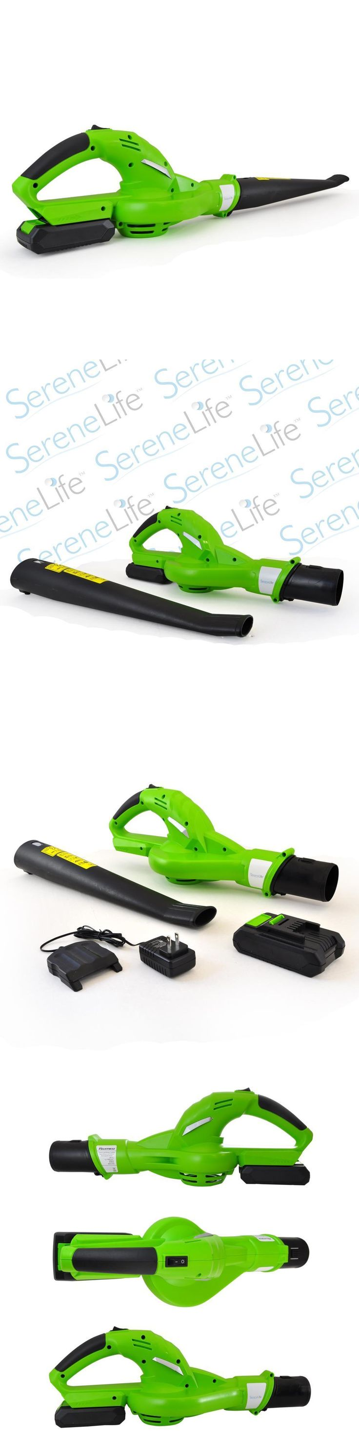 Leaf Blowers and Vacuums 71273: Serene-Life Pslhtm32 Cordless Electric Leaf Blower, 18V Rechargeable Battery -> BUY IT NOW ONLY: $79.99 on eBay!