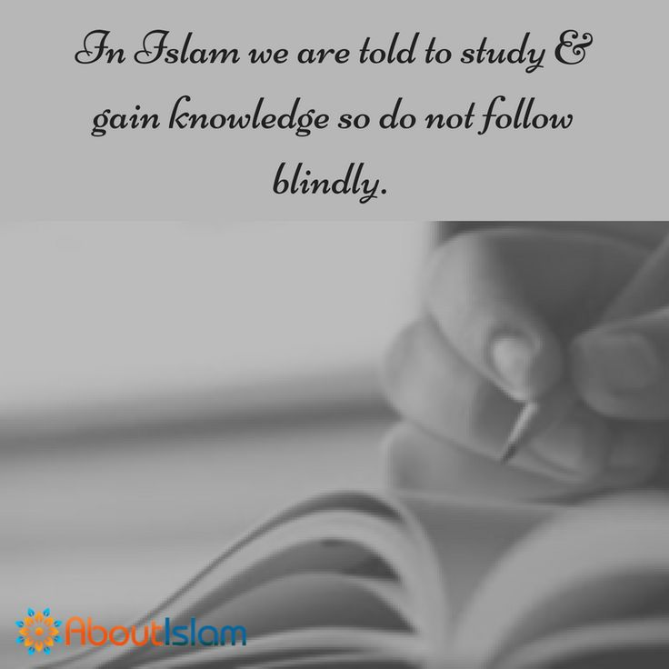 Do not blindly follow!   #Study #Knowledge #Educate