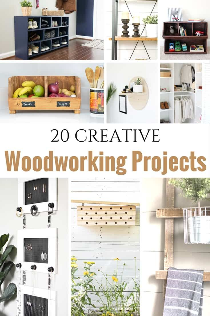 DIY Woodworking Ideas 20 Creative Beginner Woodworking Projects