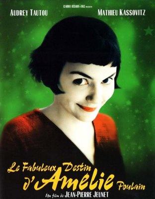 O Fabuloso Destino de Amelie Poulain. todas as cores do cinema francês juntas, veja! ;)