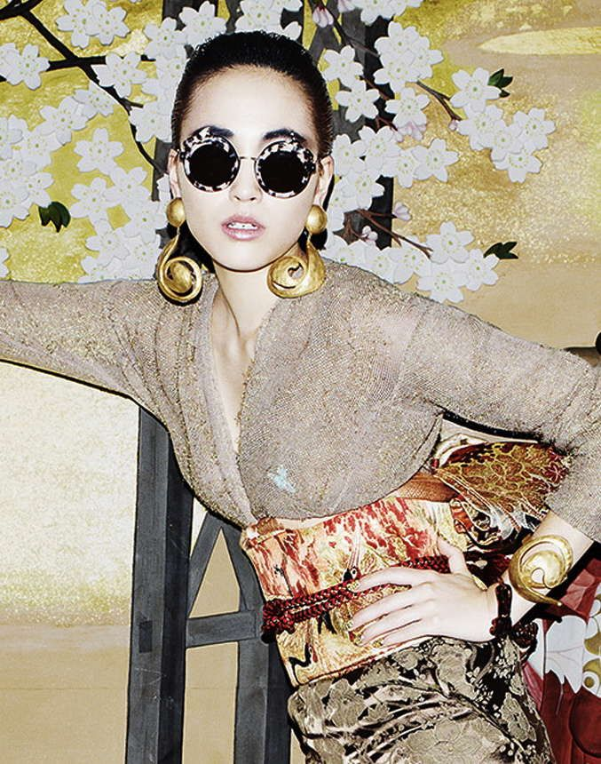 Saturated Japanese Fashion Editorials : Neo Nippon