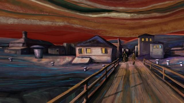 """Sebastian Cosor has created a small masterpiece video by uniting Edvard Munch """"The Scream (1893) with the music of Pink Floyd. Literally creating a video where the folks in the """"The Scream"""" come alive in the most bizarre way possible."""