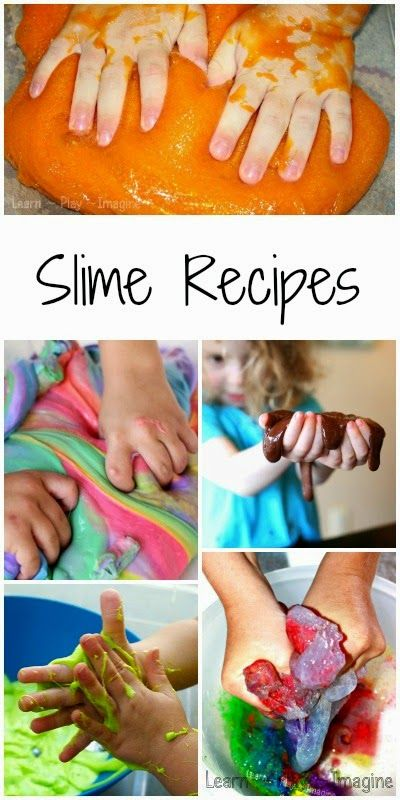 15 receitas para o lodo caseiras, incluindo até alguns que são comestíveis e seguro para as mãos mais pequenas!