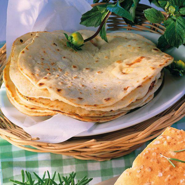 Mexikanische Weizen-Tortillas