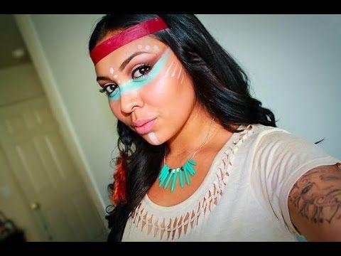native american inspired makeup tutorial youtube. Black Bedroom Furniture Sets. Home Design Ideas