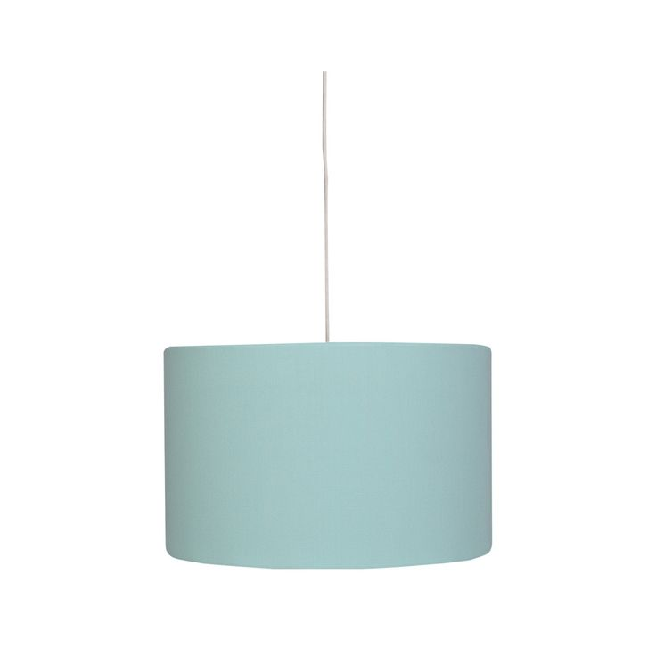 The Pillowfort Solid Ceiling Light's lamp-shade style offers a casual twist on the traditional pendant light, and its simple lines add laidback elegance instantly. Made of cotton with a polyester interior, this drum pendant gently filters the light and creates a pleasing glow.