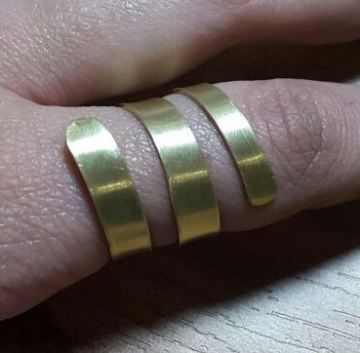 Anillo Espiral/spiral ring | BARCELONA BY BETH ROMA