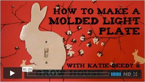 One Minute Tip: How to Make a Molded Light Switch Plate ...