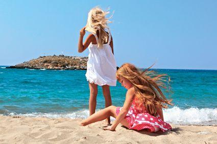 Kids' beachside paradise