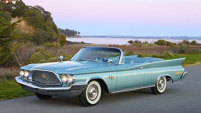1960 Chrysler New Yorker Convertible, 1 of 556 produced