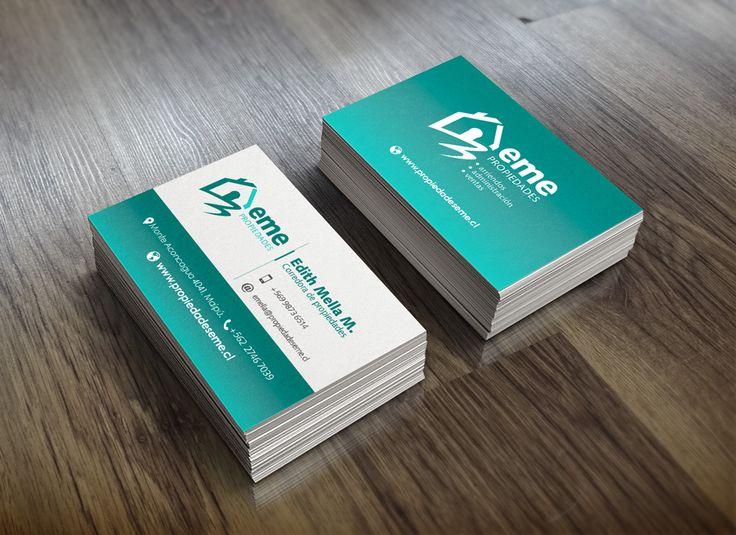 Diseño de imagen corporativa. Aplicación en tarjetas de visita.