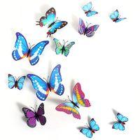 3D Butterfly Naklejka Art Kreatywny Butterflie Projekt Naklejka Naklejki Ścienne Home Decor Naklejka Ścienna Pokoju Dekoracje