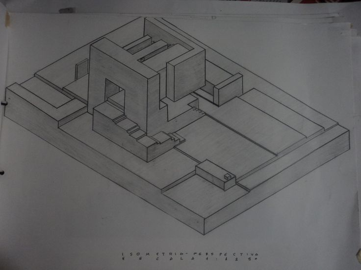 Dibujo Axonométrico Cubo