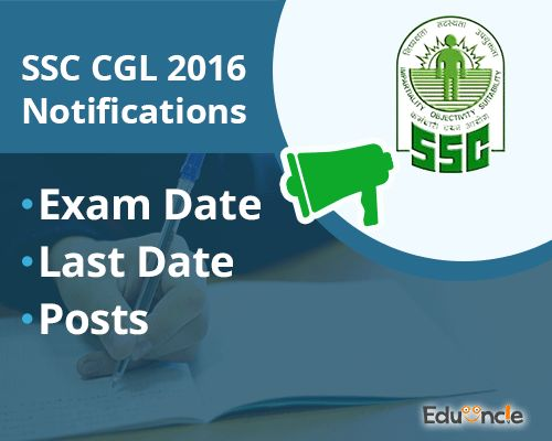 Dear CGL Aspirants, be prepared for the Exams!!   The Staff Selection Commission (SSC) has released a notification regarding the exam dates for the Combined Graduate Level (CGL) Exam Tier 1 and Tier 2. Staff Selection Commission (SSC) has recently declared the SSC CGL 2016 notification on 13th February, 2016. It's a great news for […]