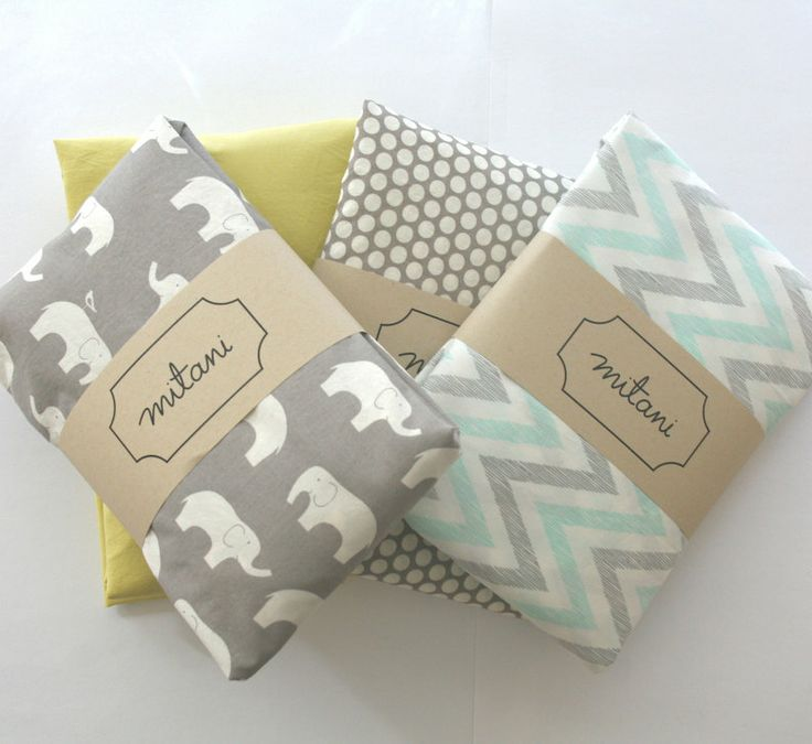 organic cotton crib fitted sheet for boys girls by mitanidesigns, $58.00
