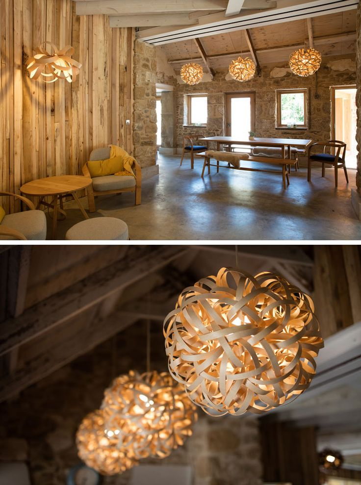 Steam bent wood lighting and furniture designs from Tom Raffield have been used to furnish this & 238 best decorate ? light images on Pinterest | Bedrooms Night ...